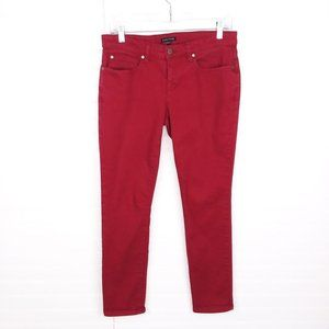 Eileen Fisher Mid Rise Organic Cotton Slim Jeans